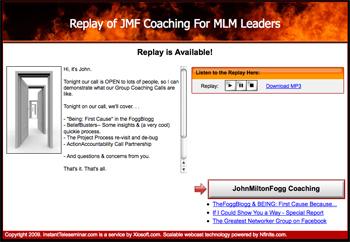 JMFCoaching4MLMLeaders